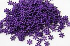 Snowflake Spacer Bead Plastic 8.5mm colour choice 200 or 400pcs Jewellery Craft