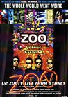 U2 Zoo TV Live From Sydney PHOTO Print POSTER Songs of Innocence Joshua Tree 012