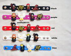 HARRY POTTER JIBBITZ WRIST BAND BRACELET & 4 CHARMS BRAND NEW