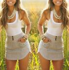 New Arrive Women Casual Sleeveless Party Evening Short Mini Summer Lady Dress