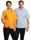 Mens Traditional Polo Shirt PS11 | Pique Knit, Plain, Blank, Basic, Casual