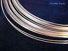 1Ft 14KY Gold-Filled Half Hard ROUND Jewelry Wire USA Wrap 14 16 18 19 GA Gauge