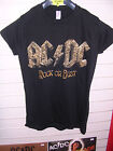 AC/DC - ROCK OR BUST LADIES T-SHIRT SMALL SIZE MINT + FREE UK P&P