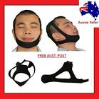 Anti Snoring Chin Strap Stop Snore Sleep Apnea Device Support Nose Breathing Aid