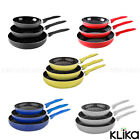 STONECHEF CERAMIC STONE COATED COOKWARE 3 PIECE SET FRYPAN PANS NON-STICK