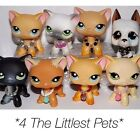 ??Littlest Pet Shop accessories clothes 3pc random collars LPS CAT NOT INCLUDED