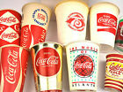 Coca-Cola Becher USA 1950er bis 1990er - Pepsi Mello Yello Coke Cups