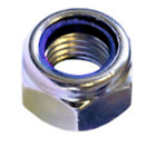 M5 / 5mm NYLOC TYPE NYLON INSERT LOCK NUTS DIN 985 A2 STAINLESS STEEL