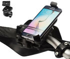 Motorcycle 21-30mm Dia Strap Mount + Holder For Samsung Galaxy S6 Edge / Plus