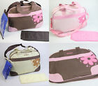 Wholesale and Bulk Baby Diaper Bag Nappy Tote Messenger Changing Bag 118 3colors