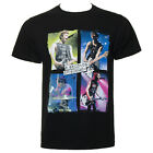 Official 5 Seconds Of Summer 5SOS Unisex Black Live In Colours T Shirt