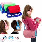 Ultimate Addons Messenger Bag Storage Case with Headphones for vTech InnoTab 3S