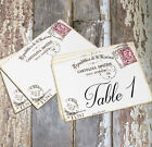LARGE DOUBLE or SINGLE SIDED ITALY ITALIAN WEDDING TABLE CARDS or SIGN #343