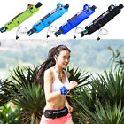 Unisex Cycling Running Yoga Waist Belt Bum Bag Travel Mobile Pouch Purse Zipper