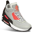 Paper Planes Athletic Shoes High Top Air Heel Sneakers PP1339 Gray M US Women