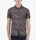 Zanerobe Predator Men's Short Sleeve Shirt in Navy Camo S, L, XL, 2XL