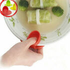 Kitchen Dishes Silicone Oven Heat Insulated Finger Glove Mitt Protector Hot LY