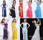 New Sexy Yoga / Belly Dance Costume Set 3PCS(Top, Pants And Scarf) Free Shipping