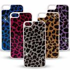 Shiny Leopard design back case hard cover for Apple iPhone 5 5s