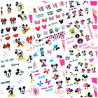Mickey Minnie Mouse Self Adhesive Colorful Nail Art Stickers Transfer Decals #10