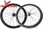 700C 50mm Tubular carbon bike Track fixed gear wheels set 20.5,23,25mm rim width