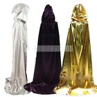 New Gold,Silver and Purple Sorcerer Cloak/Dragged to Death Cloak/Cape Halloween