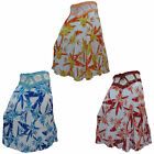 Cool Comfortable Ladies Hippy Hippie Summer Festival Floral Flower Crochet Skirt