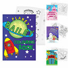 PERSONALISED Childrens Boy Girls COLOURING Book Gift for Kids Christmas Birthday