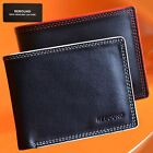 Luxury Mens Bifold Wallet Card Slot & Notes Campartments 100% Genuine Leather
