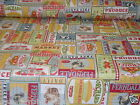 CHATHAM - GLYN POPART FARM YARD PRINT MULTI TEFLON COATED TABLECLOTH WIPE CLEAN