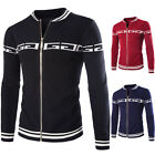 Top Quality Men Baseball Sweater Pullover Cardigan Sweater Casual Jacket Coat