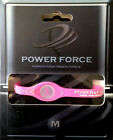 Pink Ribbon Breast Cancer Awareness Power Force Ion Balance Bracelet New In Box