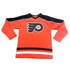New NHL Philadelphia Flyers Hockey Jersey Boys Small (8) Large (14-16) $16.14 USD on eBay