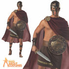 Spartan Warrior Costume Mens Roman Greek Gladiator Fancy Dress Outfit New