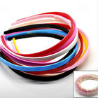 Mixed Plastic Hairbands Style Hair Accessory Teeth Candy Color Headbands UK32