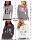 JUICY COUTURE Embellished Graphic French Terry Sweatshirts Lips, lipstick, Hills