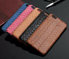Retro Luxury Snake Texture Genuine Leather Cover Case For iPhone 6s or 6S Plus
