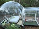 Outdoor Single Tunnel Inflatable Bubble Tent Camping Family Stargazing 3-4 peopl