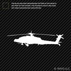 AH-64 Apache Sticker Die Cut Decal F4 military monster helicopter attack ah64