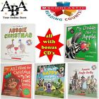 Scholastic books with CD included aussie christmas jingle bells if your happy ++