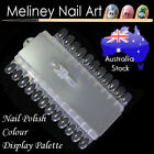 Nail Polish Colour Display Palette with 24 interchangeable tips Chart Removable