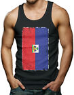 Oversized Haitian Flag - Haiti Men's Tank Top T-shirt