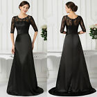 Womens Lace Cocktail Evening Party Long Dress Mother Of The Bride Beach Sundress