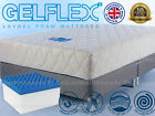 SUPERIOR LAYGEL FOAM MATTRESS 2ft 3ft 4ft 5ft 6ft SINGLE DOUBLE KING SUPER SMALL
