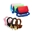 Kids Messenger Bag with Animal Headphones for Tesco Hudl 1 / 2