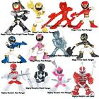 NEW POWER RANGERS BATTLE READY MEGA FORCE & MIGHTY MORPHIN 6CM FIGURES WITH CARD