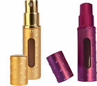 Perfume Atomizer Travalo Elite Elegance Travel Refillable Spray Pink Gold