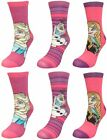 Disney Frozen Girl's 6 pack Socks