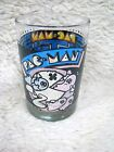 Vintage 1980 PacMan Bally Midway Manufacturing Arby's Collector Series Glass