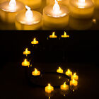24PCS Flameless smokeless Electronic Tea Light timer LED Candle for xmas party
